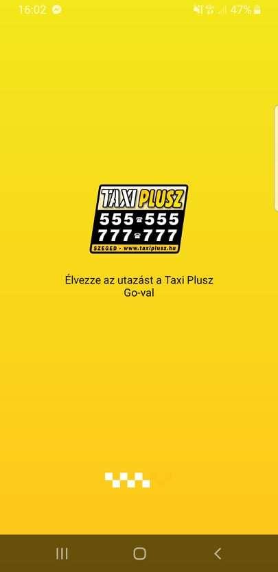 taxi alkalmazás