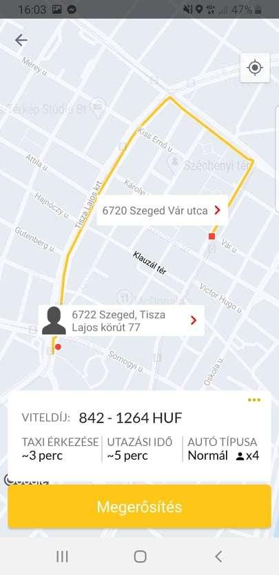 taxi alkalmazás letöltés